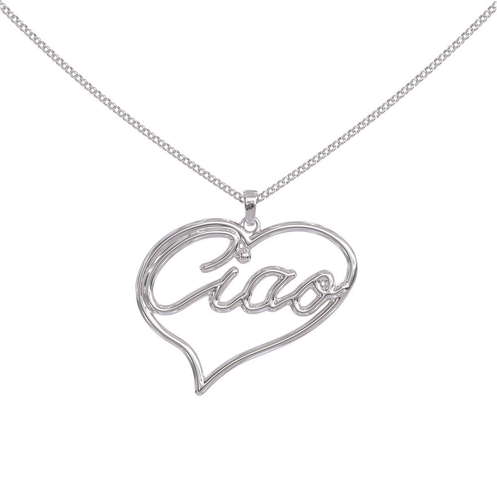 Ciao italian pendant shineon ciao italian pendant mozeypictures Image collections