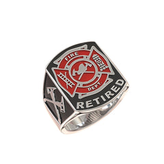 Retired Fire Department Ring - Limited Edition