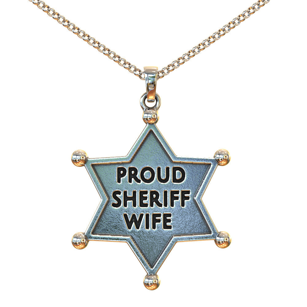 Perfect for a Proud Sheriff's Wife