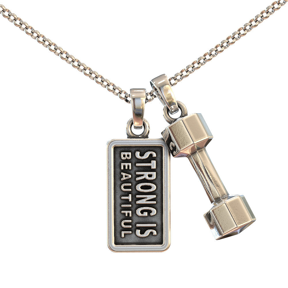 Strong is Beautiful Pendant