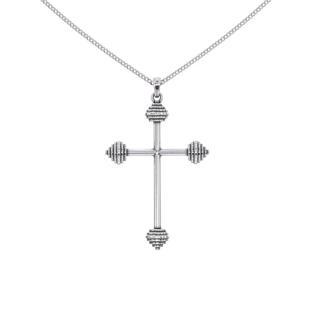 Barbell Love Necklace