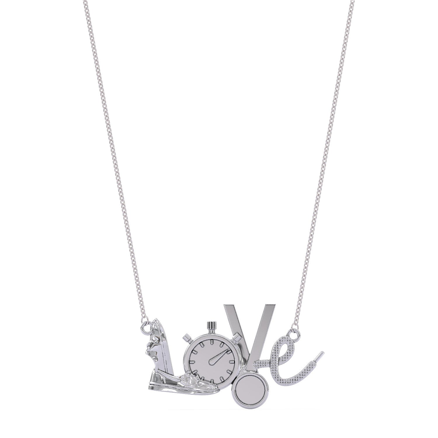 Running Love Necklace