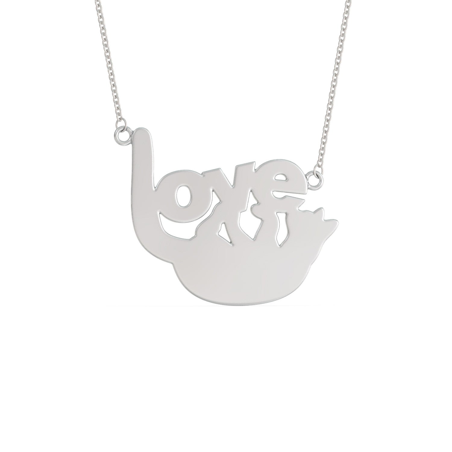 Love Toy Kitty Necklace