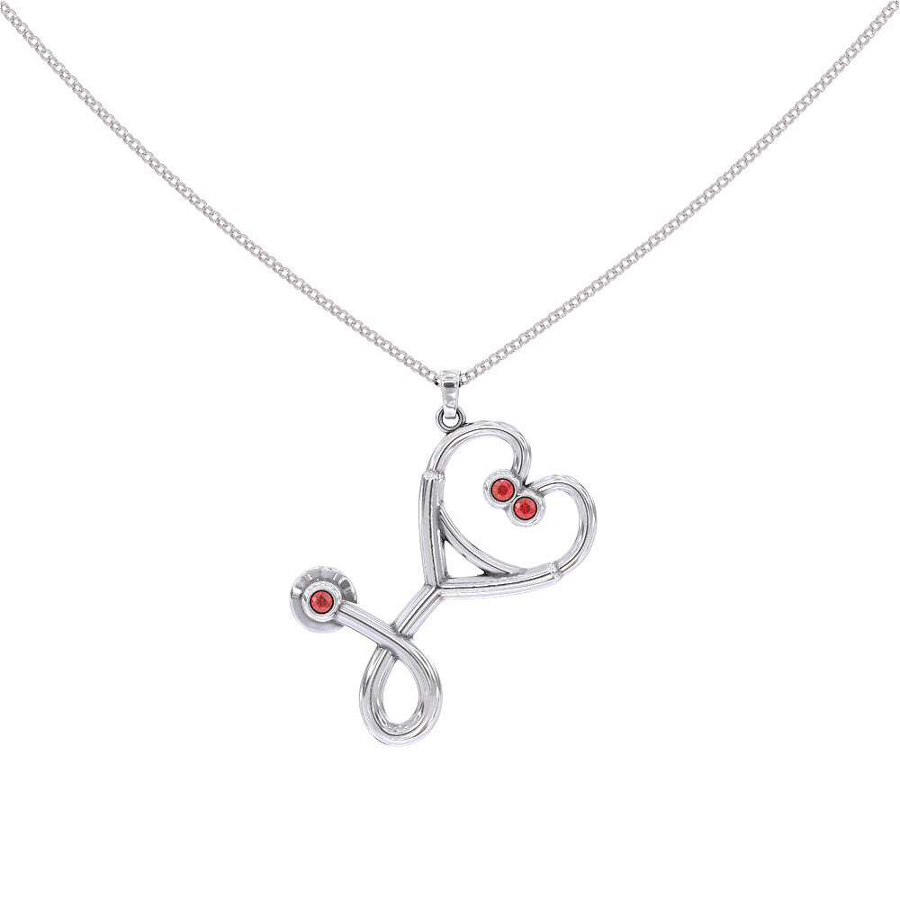 Personalised Birthstone - Nurse Heart - Strictly Limited Edition