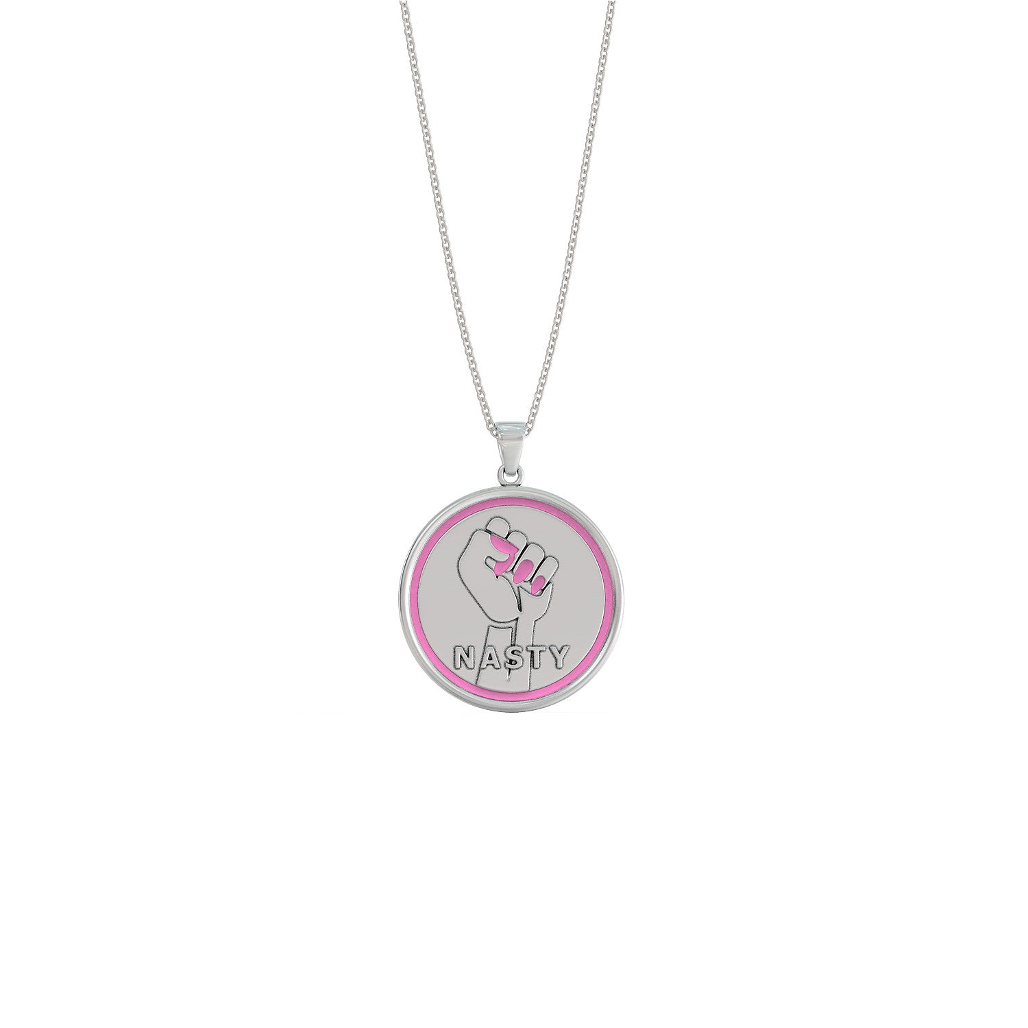 pink luxanty b collana golfista u yellow gold pendant golfer in lady d donna plated negozio necklace bianco en argento silver rhodium woman white or