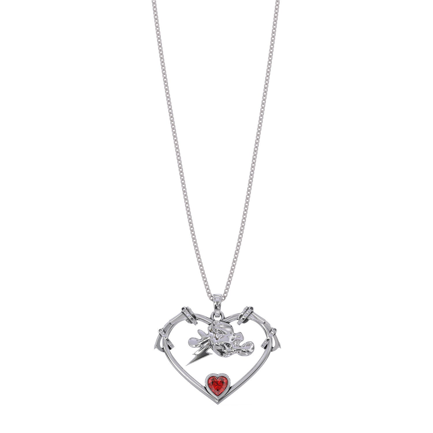 Storm Heart V2 Necklace