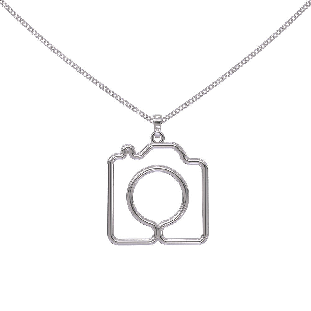 Old School Camera - Necklace