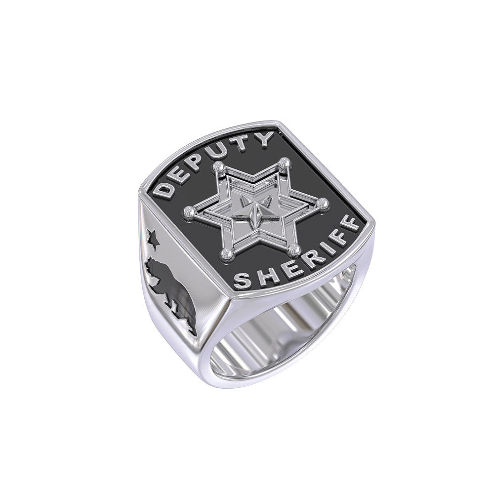 California - Deputy Sheriff 6 point star Ring