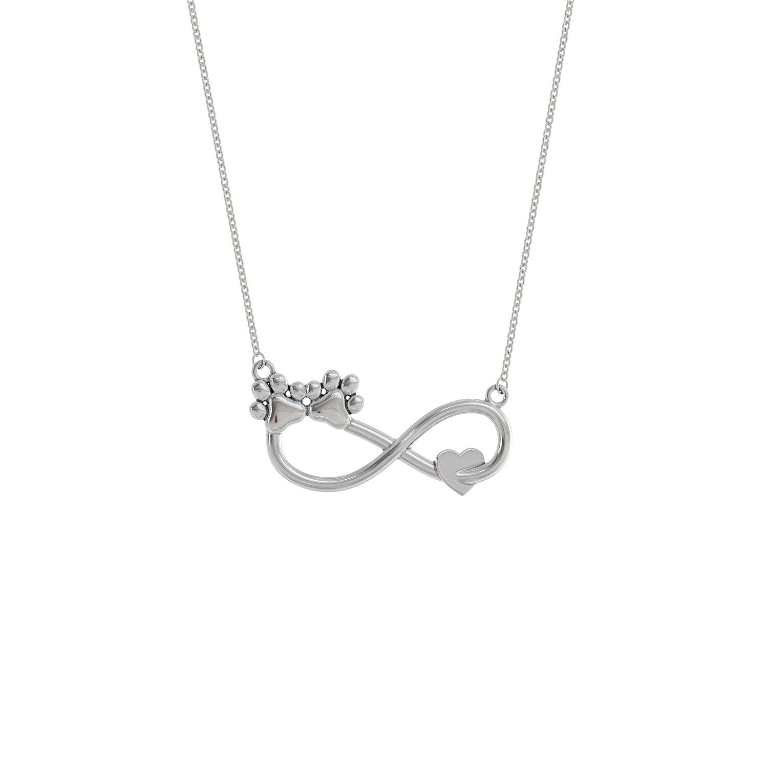 Infinity Dog Love Necklace