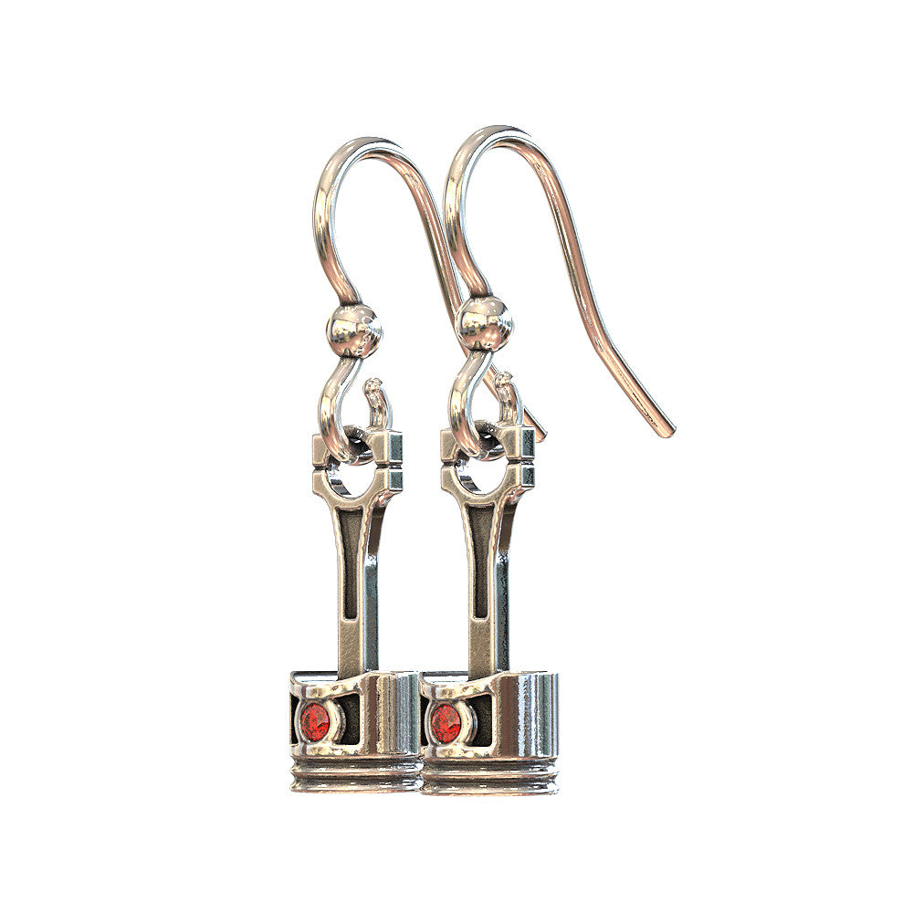 Piston Earrings
