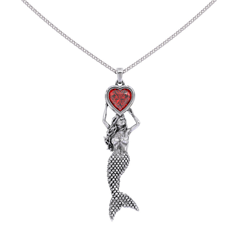 Personalised birthstone - Mermaid at heart - Strictly Limited Edition