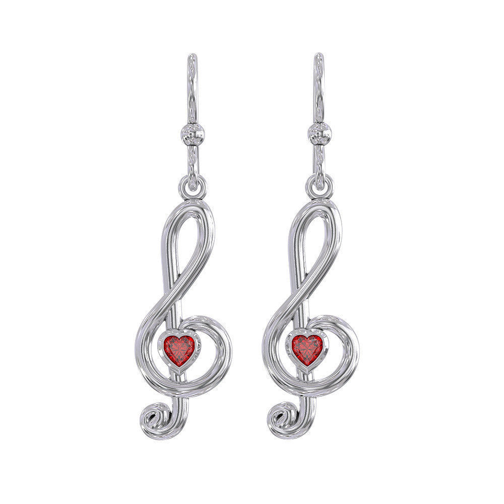 Love Music Earrings