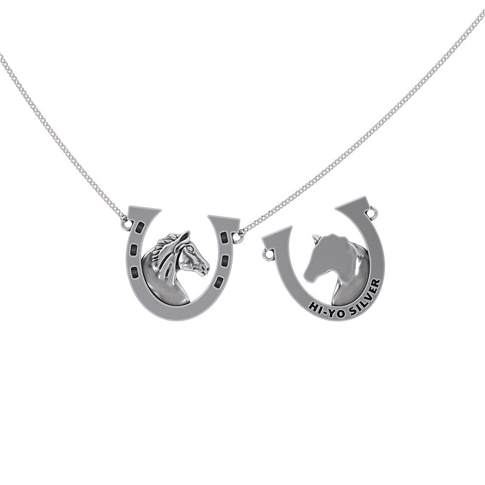 Hi-Yo Silver Horseshoe Necklace