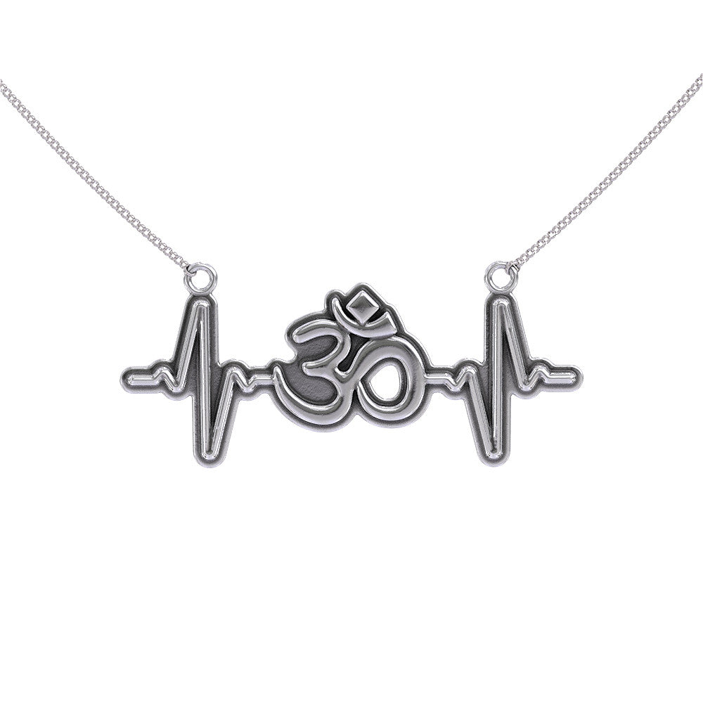 Om Heartbeat Necklace