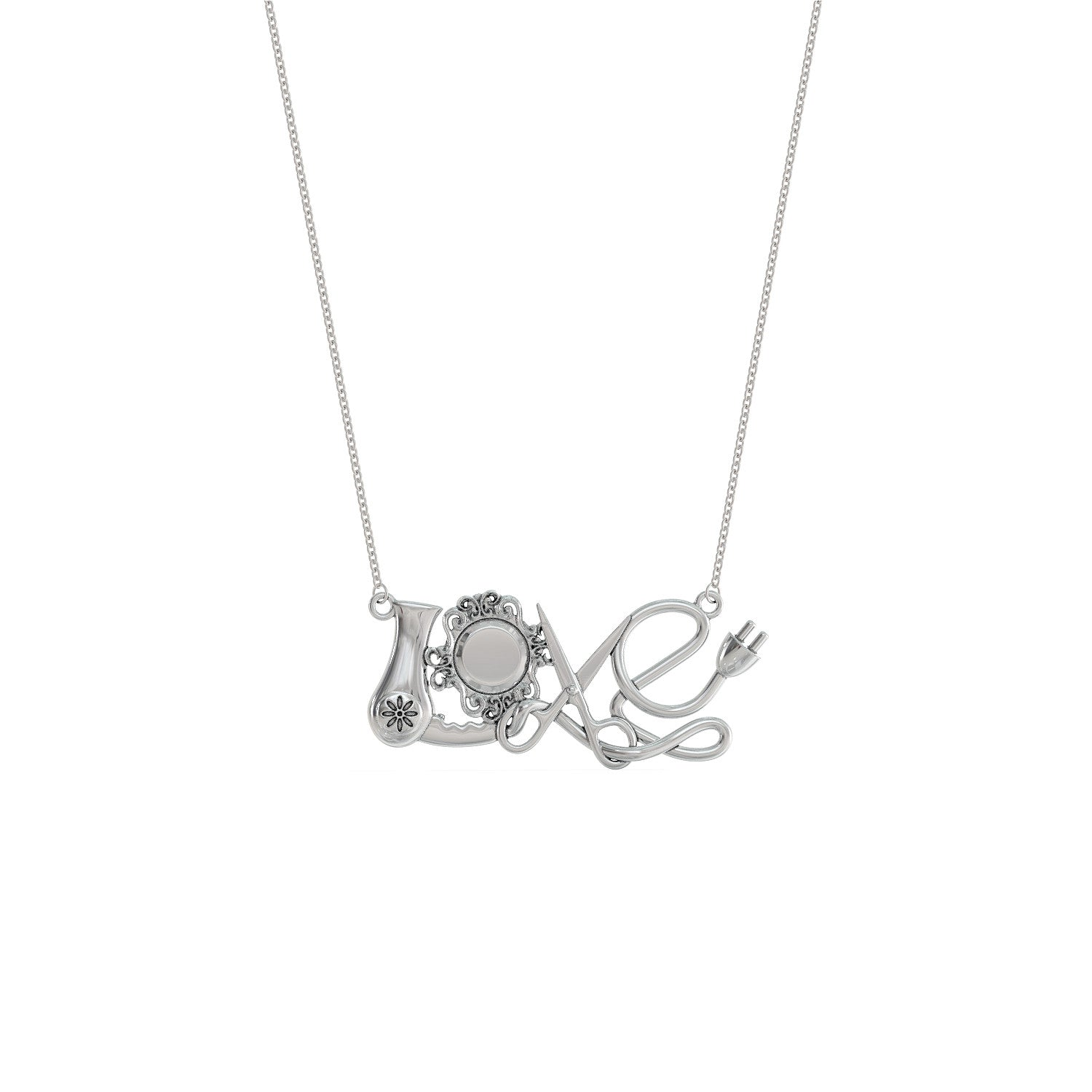 Hairdressers Love Necklace