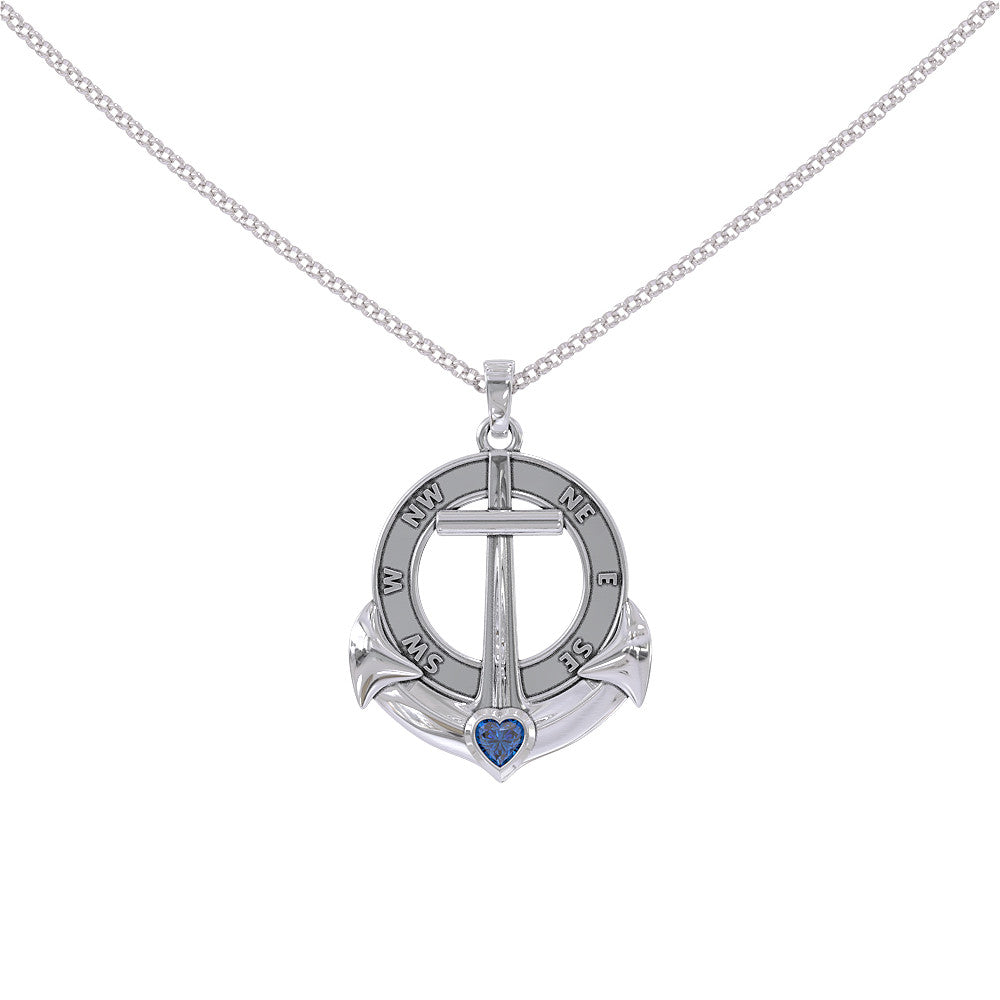 Anchor Compass Pendant - STRICTLY LIMITED EDITION