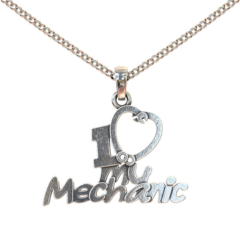 I Love My Mechanic Necklace