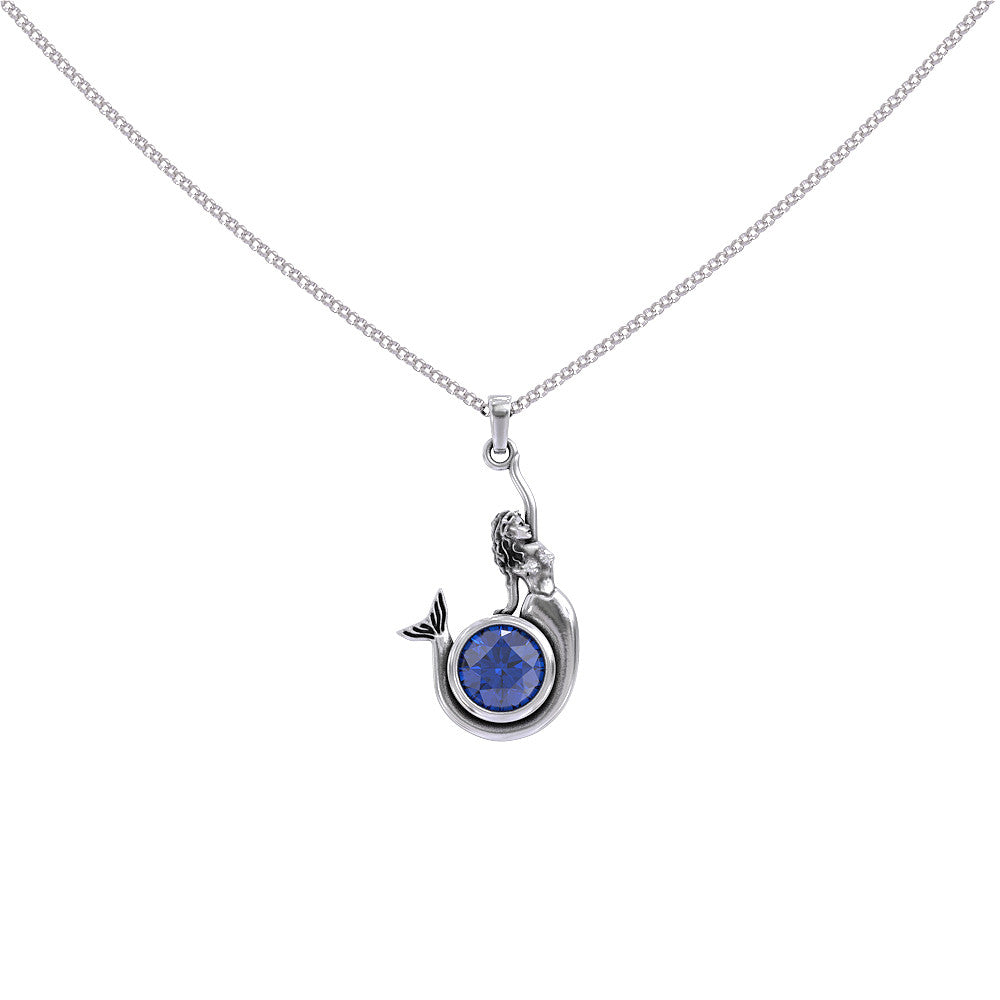 Jewel of the ocean - Personalised Birthstone - Mermaid Collection