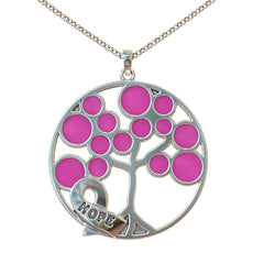 Tree of Life Breast Cancer Awareness Pendant