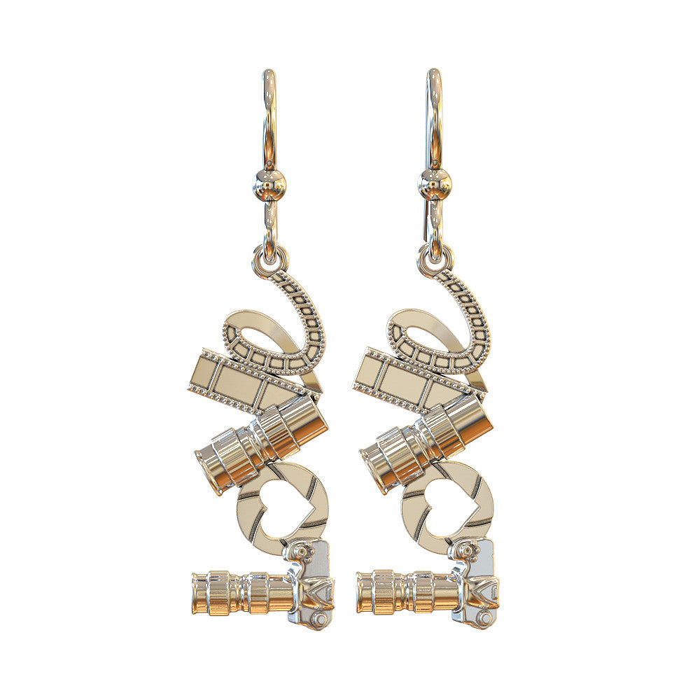 LOVE - Photography - Earrings - STRICTLY LIMITED EDITION
