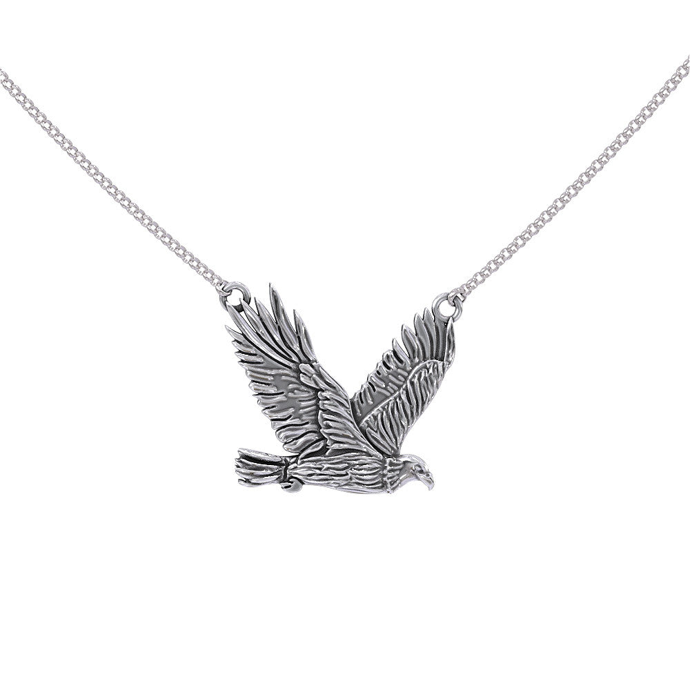On Eagles Wings Pendant