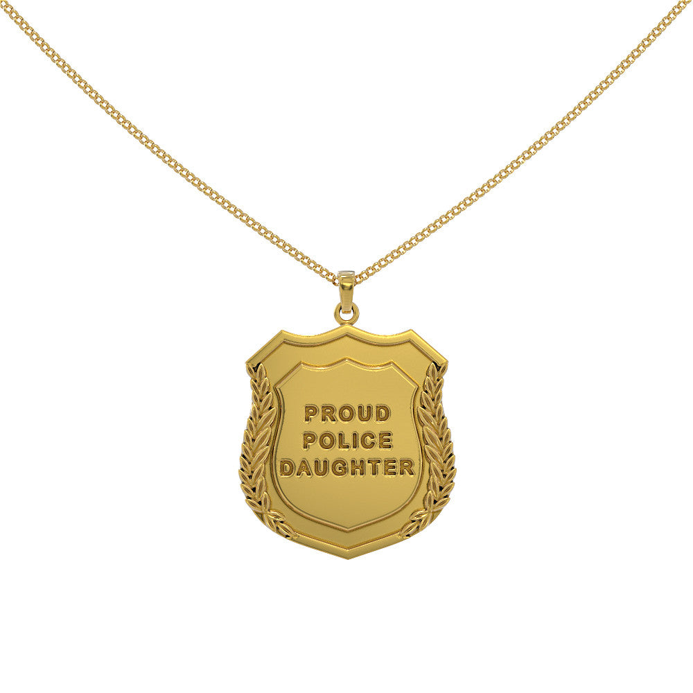 Proud Police Daughter Pendant