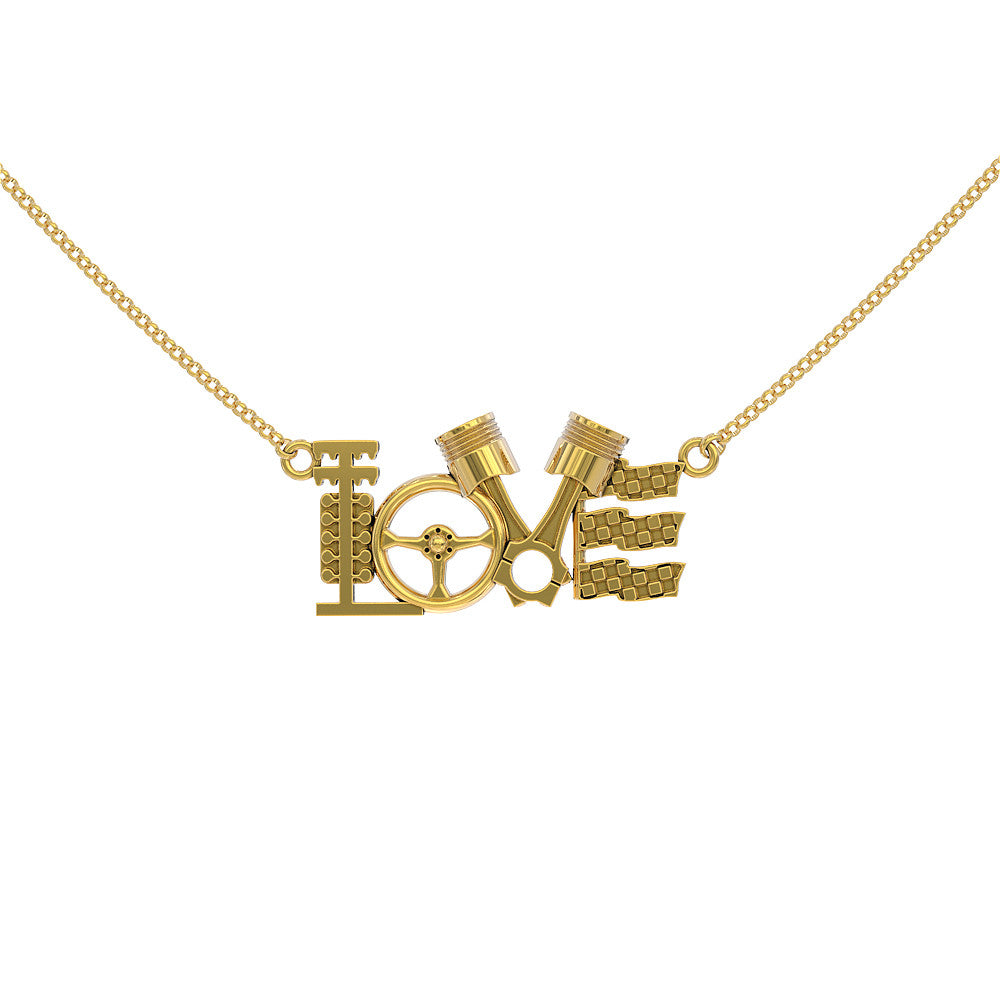 Love Racing Pendant