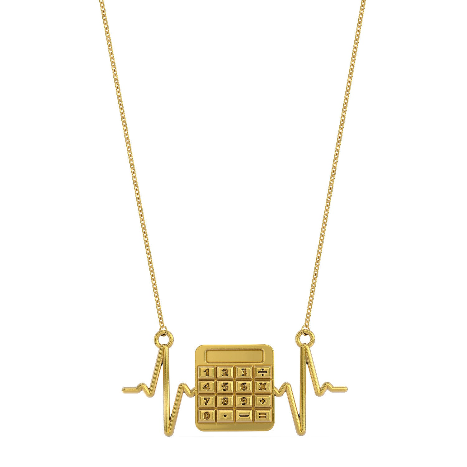 Accountant Heartbeat Necklace