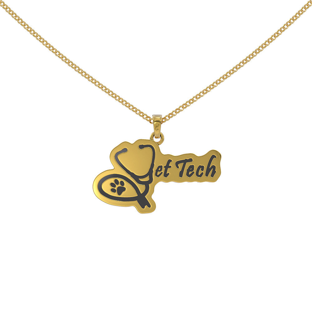 Vet Tech Necklace by vettechstuff.com