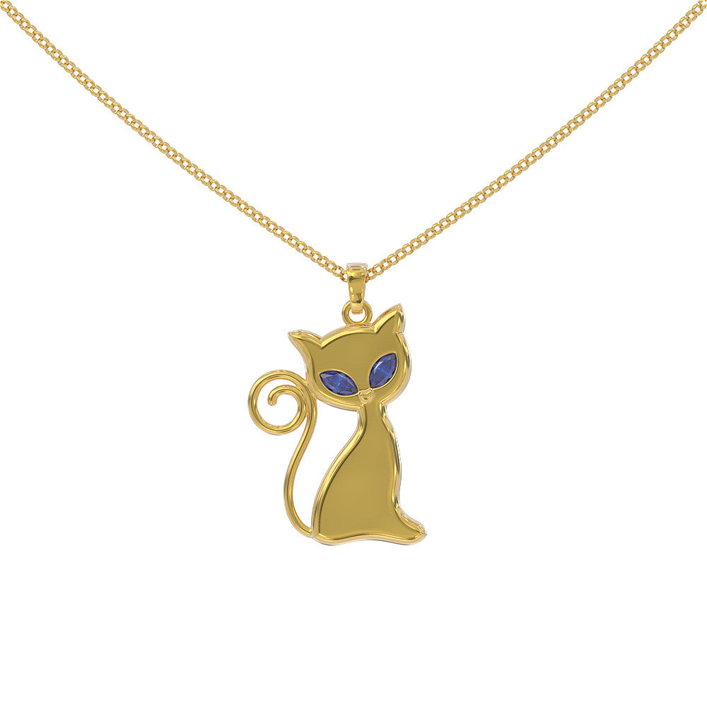 BlueEyesCat Necklace