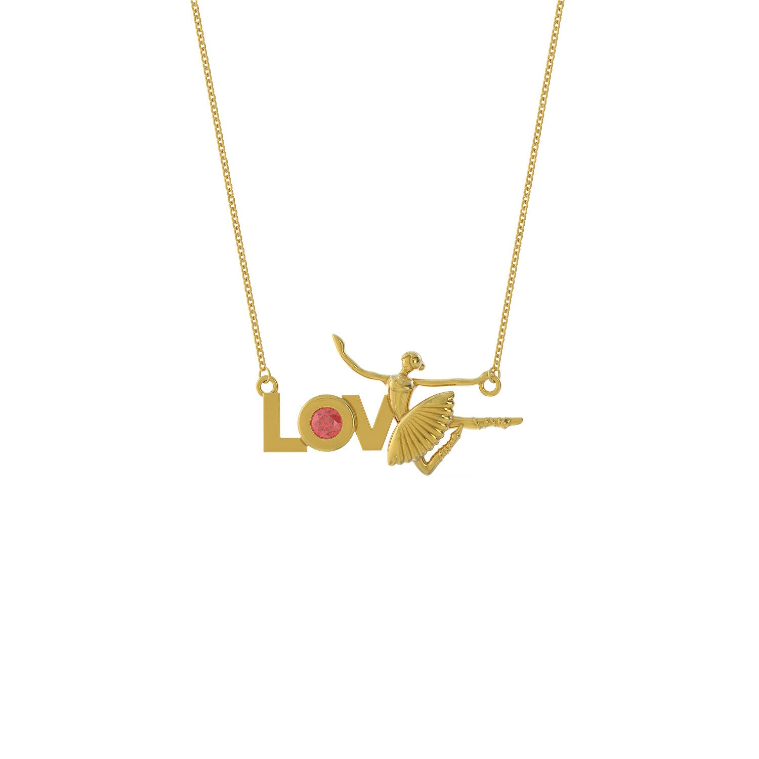 Love Ballet Necklace
