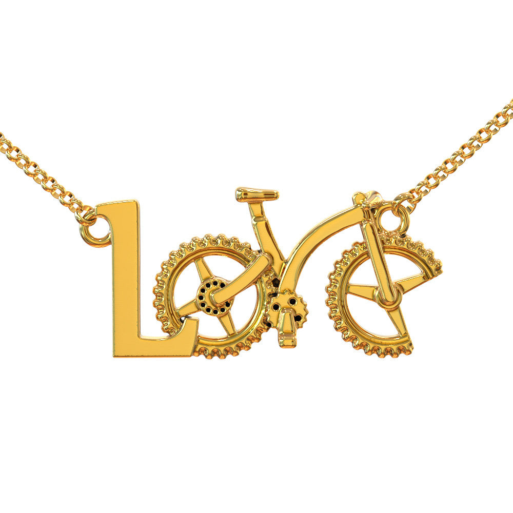 MTB Love Necklace