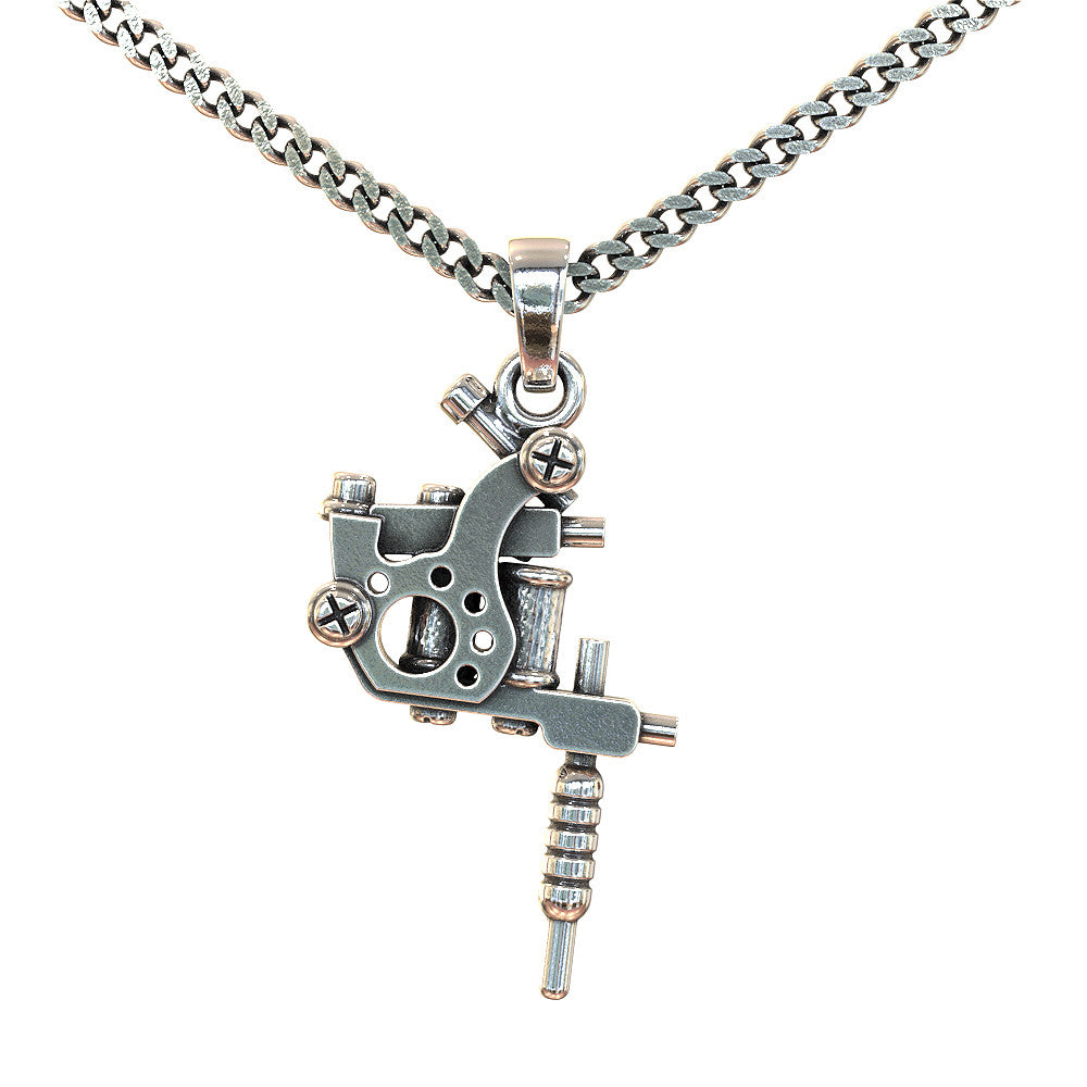 Tattoo gun necklace strictly limited edition shineon tattoo gun necklace strictly limited edition mozeypictures Gallery