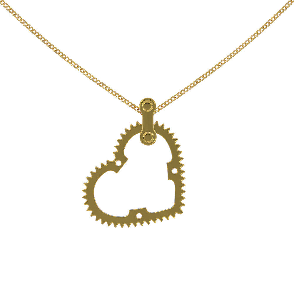 Chain Ring Love Pendant - STRICTLY LIMITED EDITION