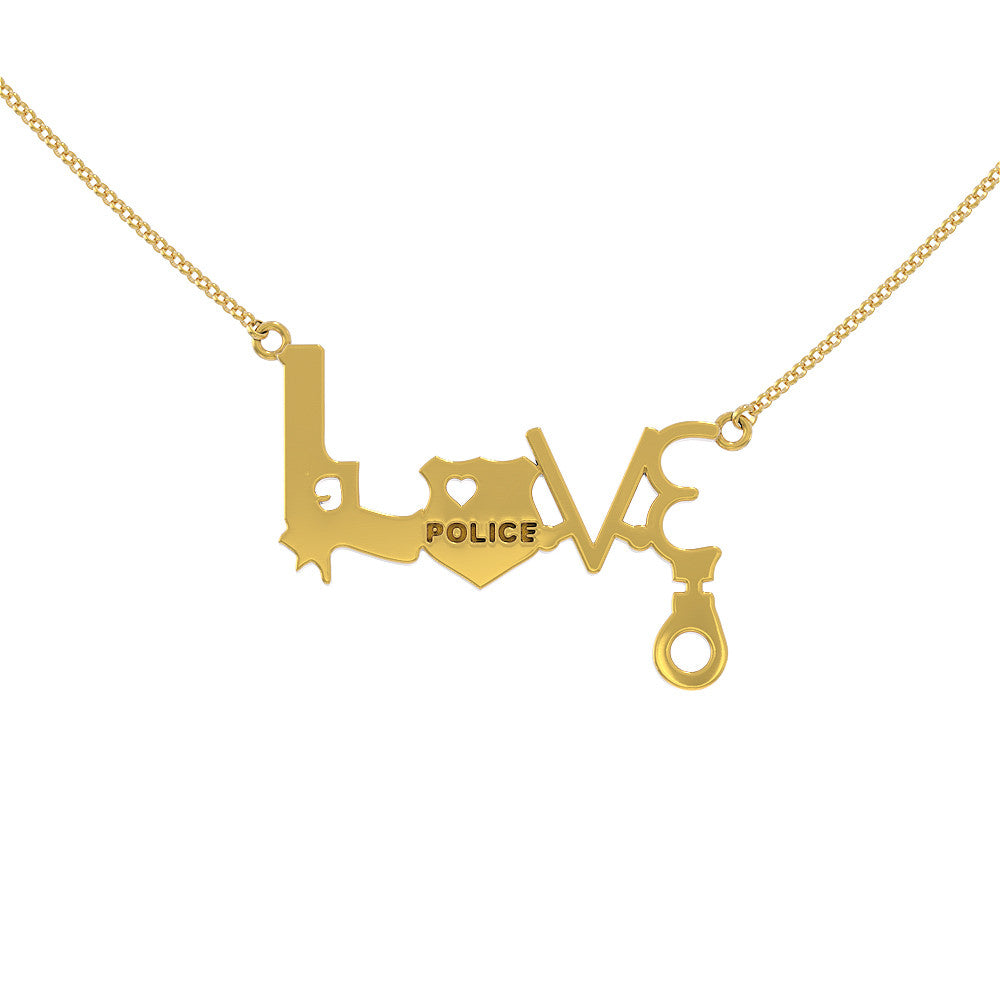 Love Police Necklace