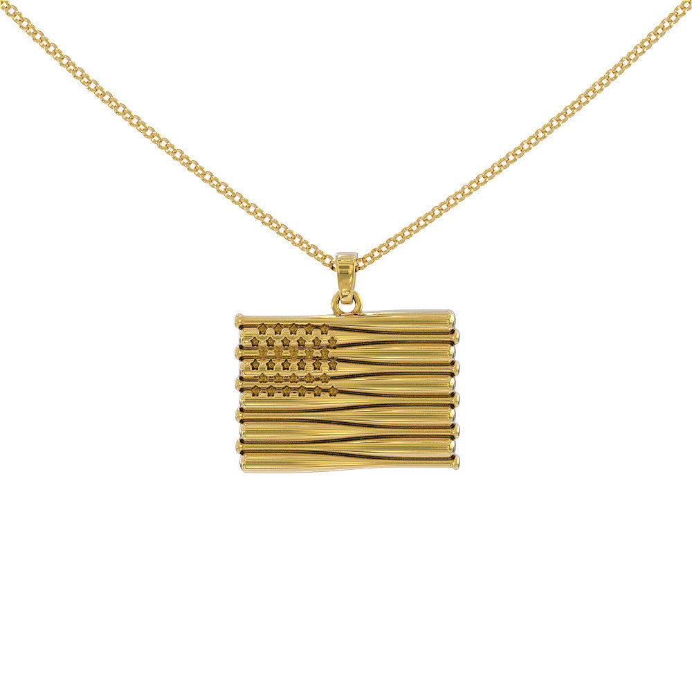 All American Baseball Necklace