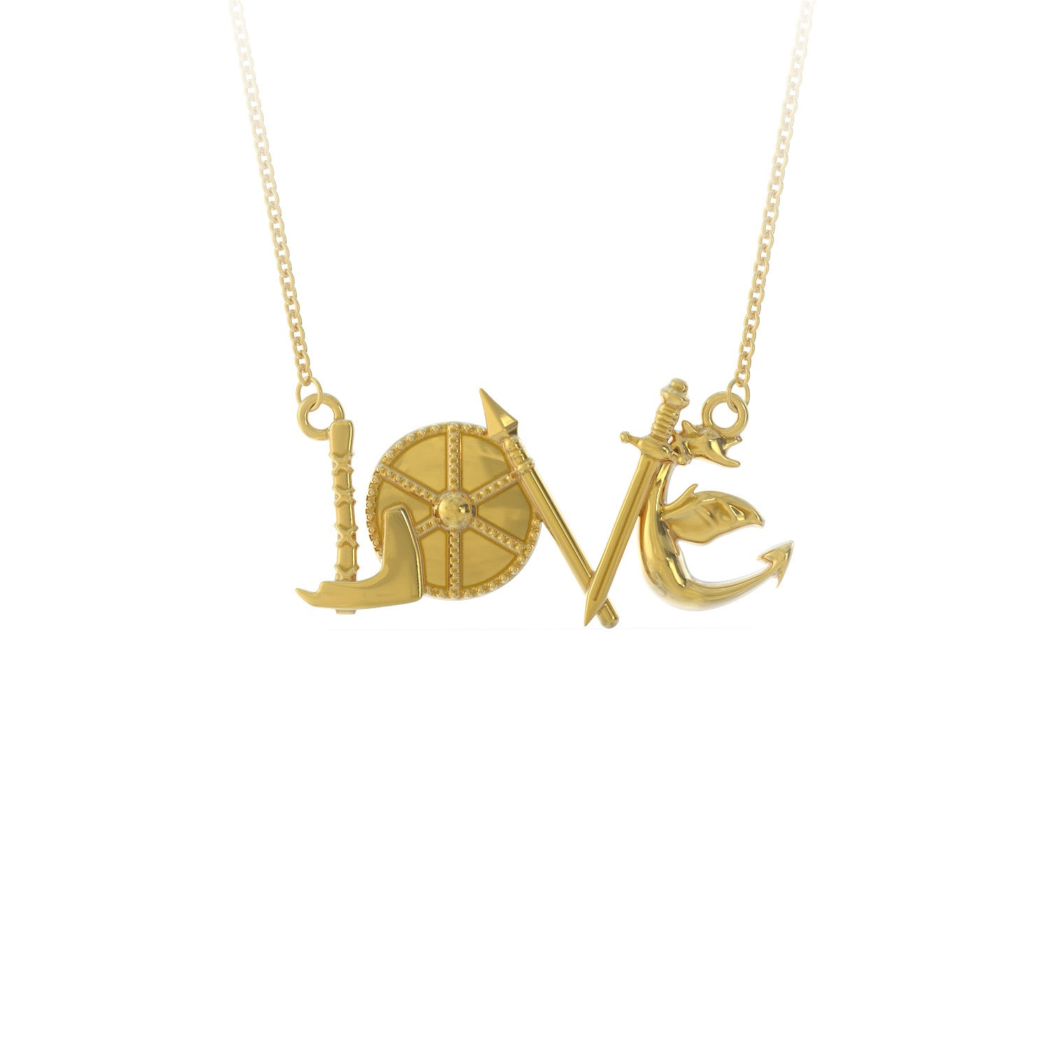 LOVE - Viking Necklace - LIMITED EDITION