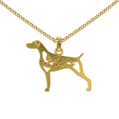 Weimaraner Duck Hunting Necklace - STRICTLY LIMITED EDITION