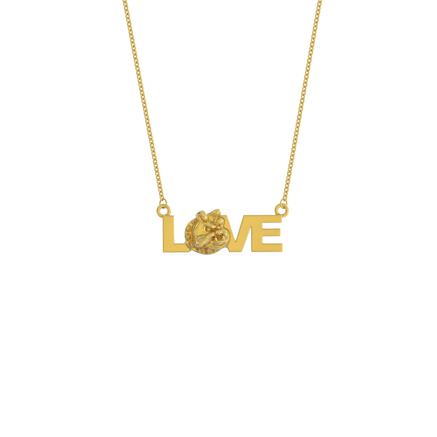 Love Bulldog Necklace