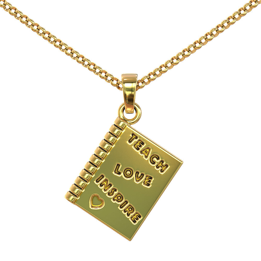 Teacher's Book - Love. Inspire. Teach Pendant