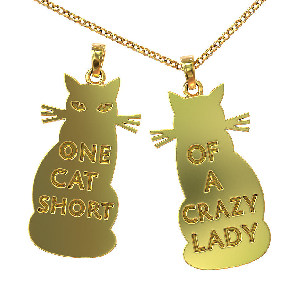 Cat Owner Pendant