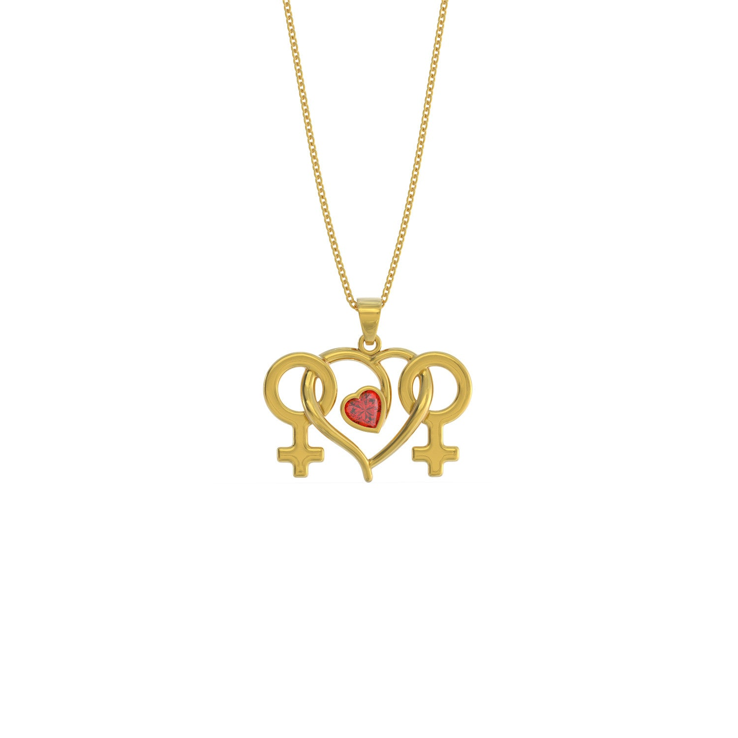 Lesbian Love Necklace