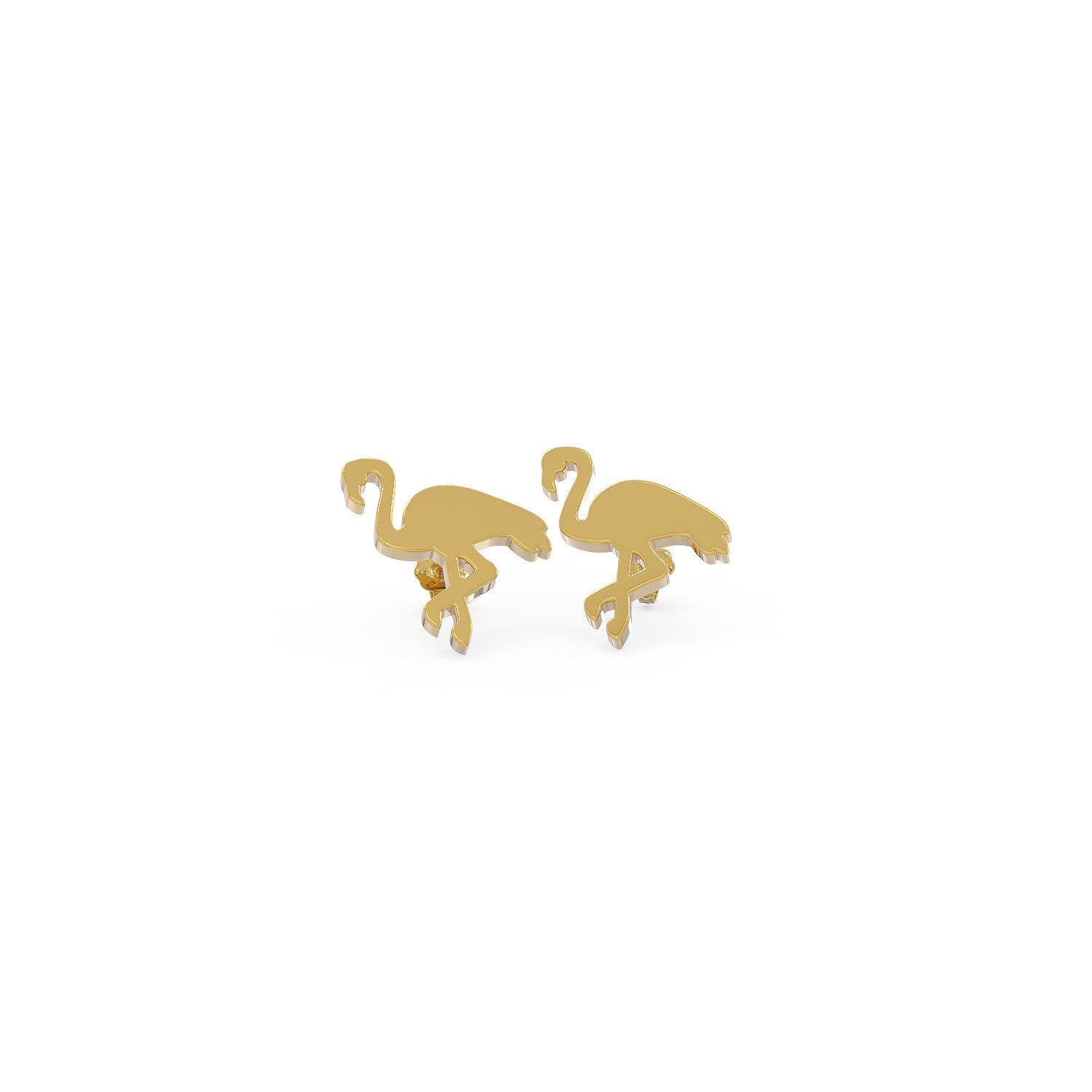 Flamingo Love Earrings