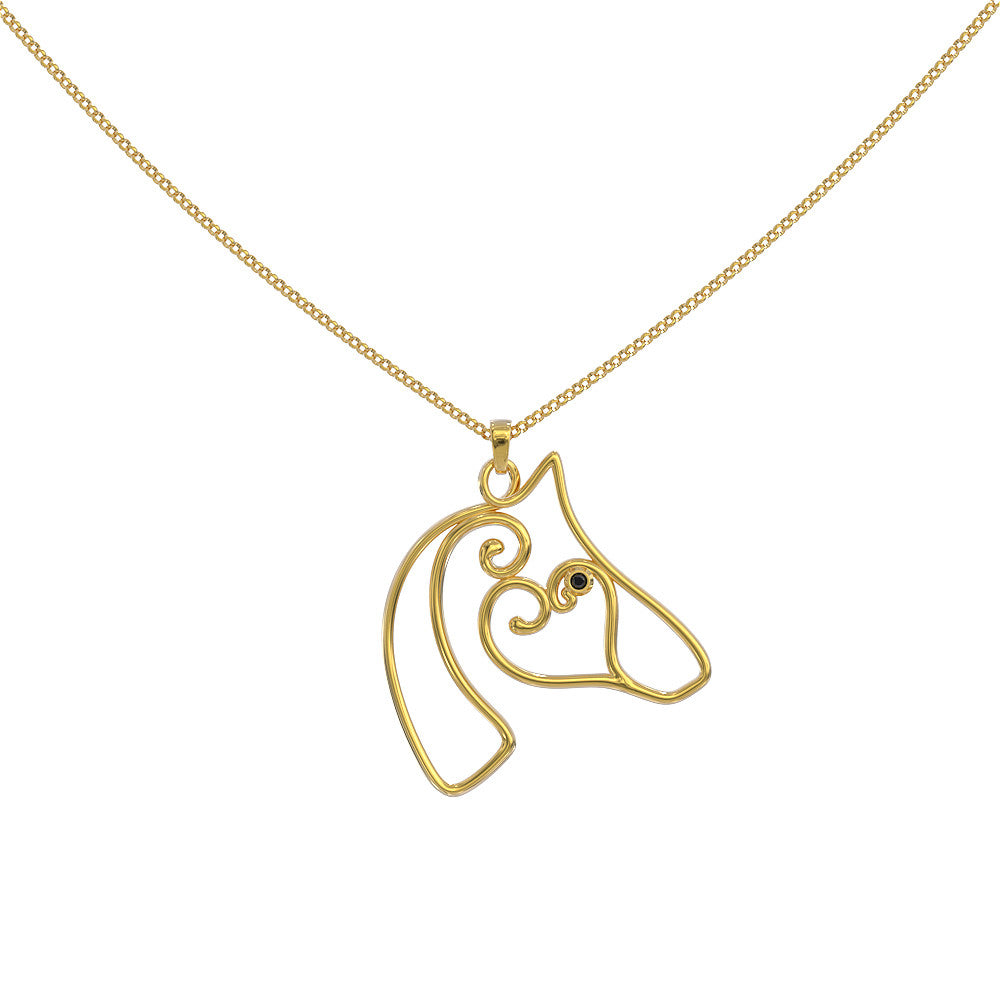 Horse Lovers Necklace - Limited Edition (Handmade)