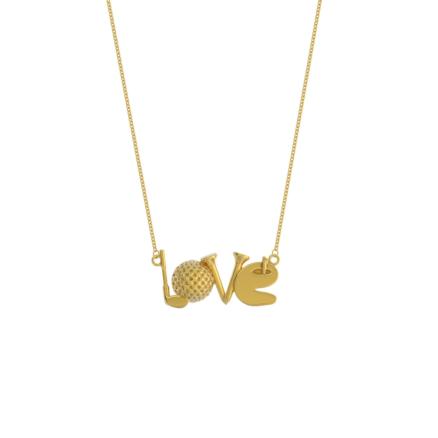 LOVE - Golf - Necklace