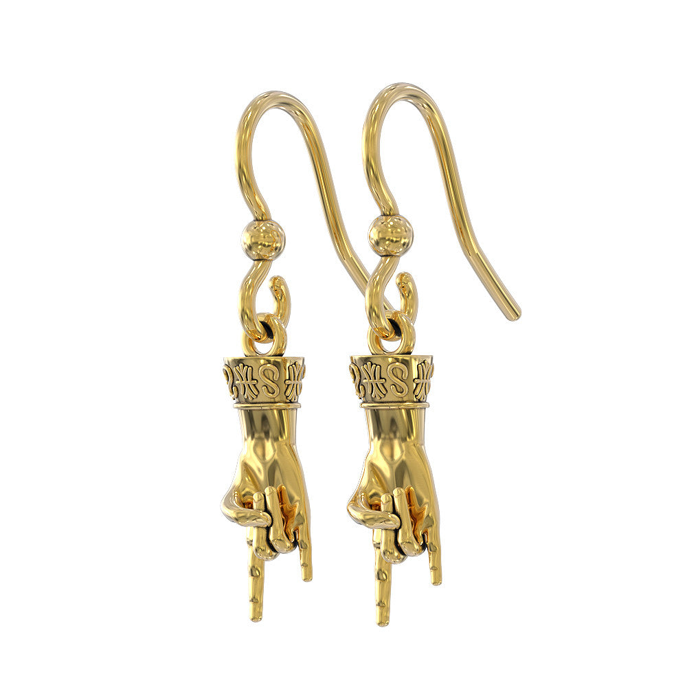 Italian Hand Earrings - Protect from Malocchio!