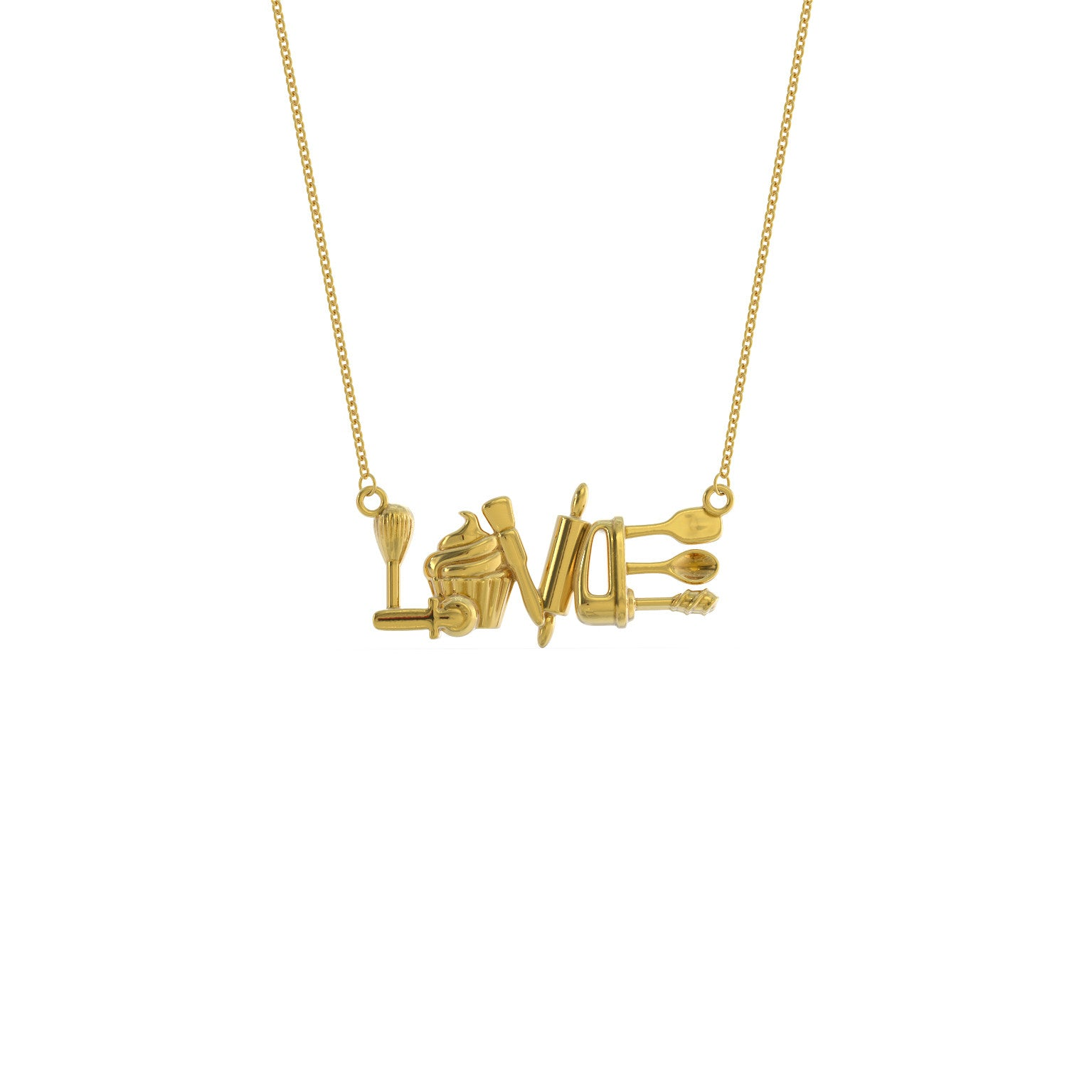 Baking Love Necklace