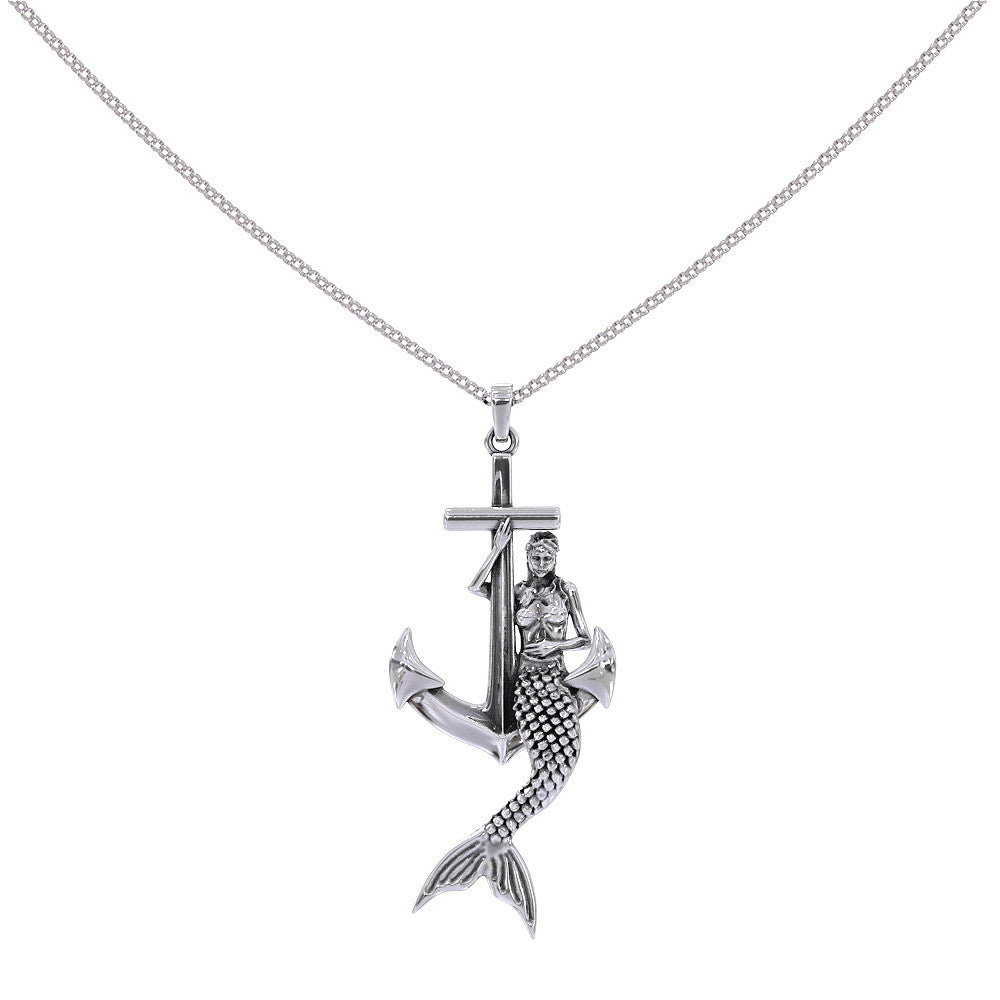 Mermaid Anchor Necklace