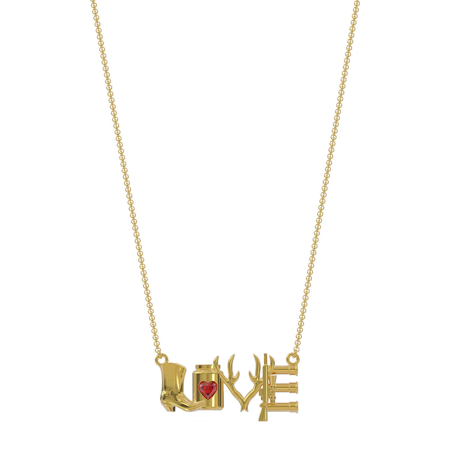 Country Love Necklace