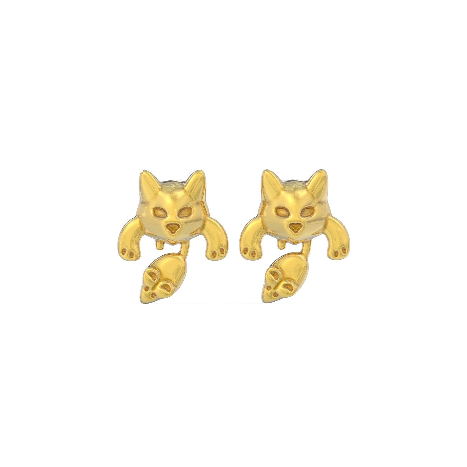 Cat & Mouse Earrings